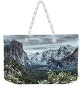 Most Beautiful Yosemite National Park Tunnel View Weekender Tote Bag