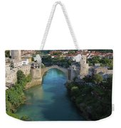 Mostar, Bosnia And Herzegovina.  Stari Most.  The Old Bridge. Weekender Tote Bag
