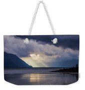 Mostly Cloudy With A Few Sunbreaks Weekender Tote Bag