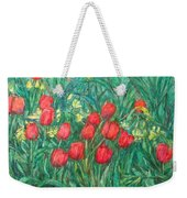 Mostly Tulips Weekender Tote Bag
