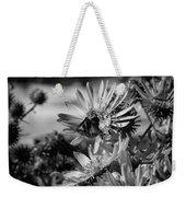 Moth And Flowers Weekender Tote Bag