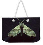 Moth At Texaco Station Weekender Tote Bag
