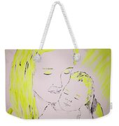 Mother And Baby Weekender Tote Bag