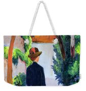 Mother And Child In The Park Weekender Tote Bag