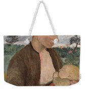 Mother And Child Weekender Tote Bag by Paula Modersohn Becker