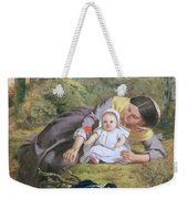 Mother And Child With A Poppy Weekender Tote Bag
