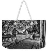 Mother And Daughter-france Weekender Tote Bag