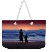 Mother And Daughter Weekender Tote Bag
