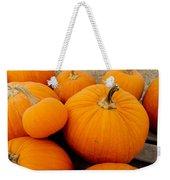 Mother And Daughter Pumpkins Weekender Tote Bag