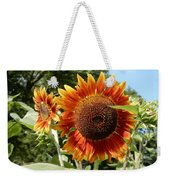 Mother And Daughter Sunflowers Weekender Tote Bag