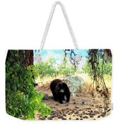 Mother Bear Weekender Tote Bag