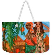 Mother Black Mother White Weekender Tote Bag