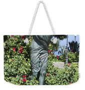 Mother Child Statue Weekender Tote Bag