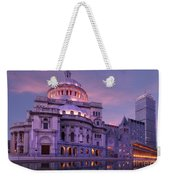 Mother Church And Reflection Weekender Tote Bag