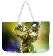 Mother Earth Weekender Tote Bag by Mary Hood