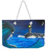 In The Glow Of The Lighthouse  Weekender Tote Bag