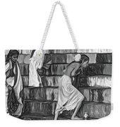 Mother Ganges - Paint Bw Weekender Tote Bag