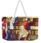Mother Ganges - Paint Weekender Tote Bag