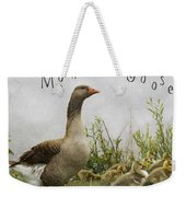 Mother Goose Weekender Tote Bag