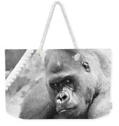 Mother Gorilla In Thought Weekender Tote Bag