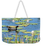 Mother Moorhen Weekender Tote Bag
