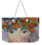 Mother Nature Weekender Tote Bag by Kim Nelson