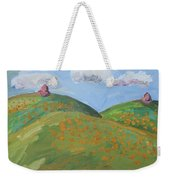 Mother Nature With Poppies Weekender Tote Bag