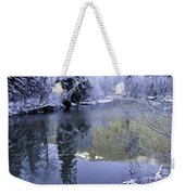 Mother Natures Chilling Touch Weekender Tote Bag