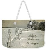 Mother Nature's Christmas Tree Card Weekender Tote Bag