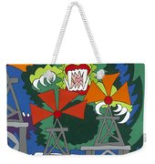 Mother Nature's Helper Weekender Tote Bag by Rojax Art