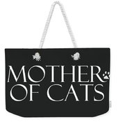 Mother Of Cats- By Linda Woods Weekender Tote Bag