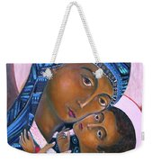 Mother Of God And Child Weekender Tote Bag