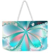 Mother Of Pearl Butterfly Weekender Tote Bag
