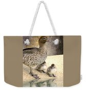 Mother Of Twins Weekender Tote Bag
