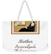Mother Weekender Tote Bag