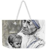 Mother Teresa. God Bless This Child Weekender Tote Bag