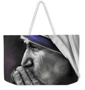 Mother Teresa Of Calcutta Weekender Tote Bag