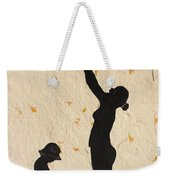 Mother With Children  Weekender Tote Bag