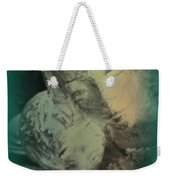 Mother With Infant Weekender Tote Bag