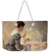 Motherhood Weekender Tote Bag by Louis Emile Adan