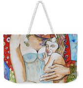 Motherhood - Tribute To Klimt Weekender Tote Bag