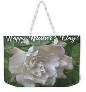 Mother's Day Gardenia Weekender Tote Bag