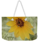 Mother's Day Sunflower Weekender Tote Bag