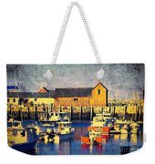 Motif No. 1 - Sunset Digital Art Oil Print Weekender Tote Bag