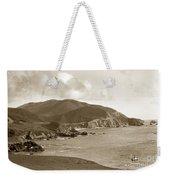 Notleys Landing Big Sur Coast Circa 1933 Weekender Tote Bag