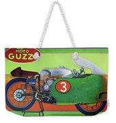 Moto Guzzi V8 Weekender Tote Bag