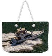 Motor Boat 2 Weekender Tote Bag