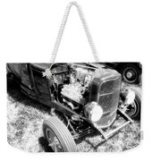 Motor Wheel Bw Weekender Tote Bag