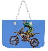 Motorbiker Weekender Tote Bag