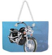 Motorcycle Weekender Tote Bag